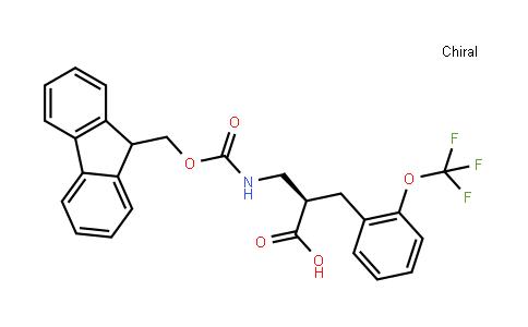 Fmoc-(R)-3-amino-2-(2-(trifluoromethoxy)benzyl)propanoicacid