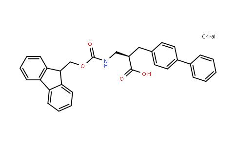 Fmoc-(R)-3-amino-2-([1,1'-biphenyl]-4-ylmethyl)propanoicacid