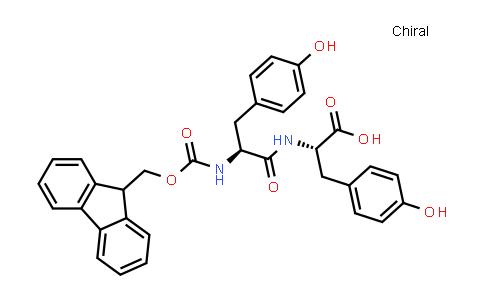 N-[(9H-fluoren-9-ylmethoxy)carbonyl]-L-tyrosyl-L-tyrosine