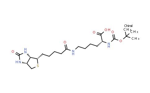N-Alpha-T-Butyloxycarbonyl-N-Epsilon-(Biotin)-D-Lysine