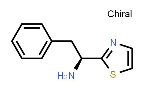 (1S)-2-phenyl-1-(1,3-thiazol-2-yl)ethanamine