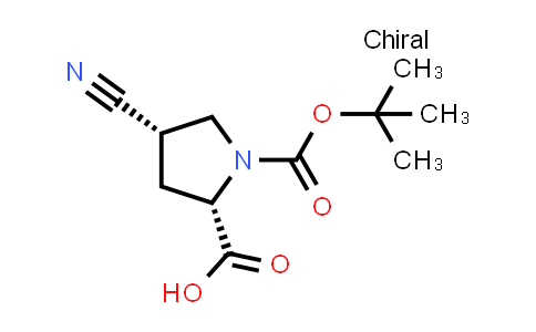 (2S,4S)-4-Cyano-1-[(2-methylpropan-2-YL)oxycarbonyl]pyrrolidine-2-carboxylic acid