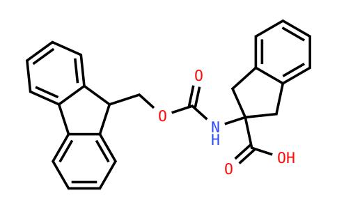 2-(Fmoc-amino)indan-2-carboxylic acid