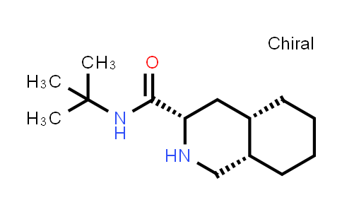 (3S,4AS,8AS)-N-Tert-butyl-1,2,3,4,4A,5,6,7,8,8A-decahydroisoquinoline-3-carboxamide