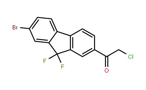 1-(7-Bromo-9,9-difluorofluoren-2-yl)-2-chloroethanone