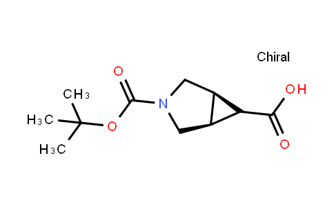(1S,5r)-3-[(2-methylpropan-2-yl)oxycarbonyl]-3-azabicyclo[3.1.0]hexane-6-carboxylic acid