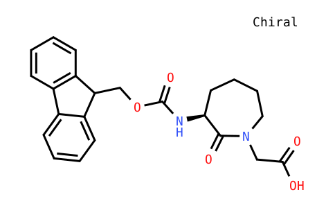 Fmoc-(3S)-3-amino-1-carboxymethylcaprolactame