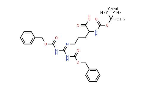 Boc-D-Arg(Z)₂-OH