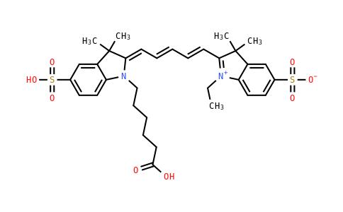 Sulfo-Cy5-acid
