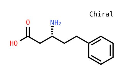 (3R)-3-amino-5-phenylpentanoic acid