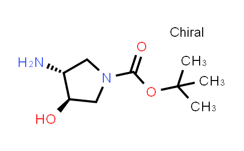 Tert-butyl (3r,4r)-3-amino-4-hydroxypyrrolidine-1-carboxylate