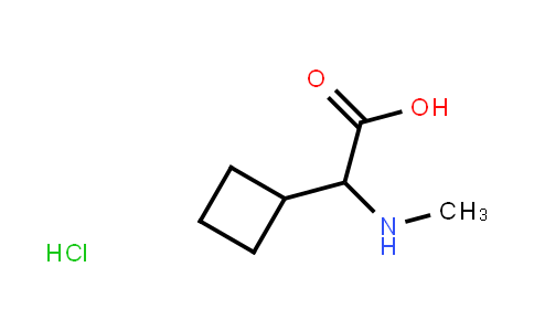 2-Cyclobutyl-2-(methylamino)acetic acid hydrochloride