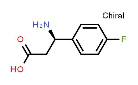 (3R)-3-amino-3-(4-fluorophenyl)propanoic acid