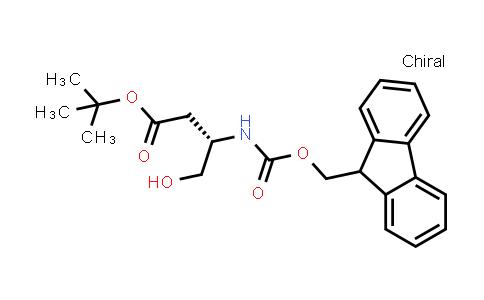 Fmoc-D-beta-homoserine(OtBu)