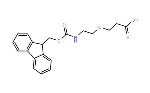 Fmoc-6-Amino-4-oxahexanoic acid