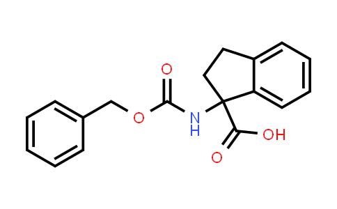 1-(Phenylmethoxycarbonylamino)-2,3-dihydroindene-1-carboxylic acid