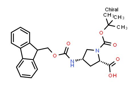 (4S)-4-N-Fmoc-Amino-1-Boc-L-Proline