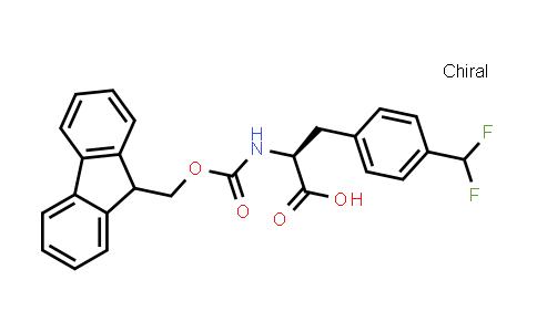 (2S)-3-[4-(Difluoromethyl)phenyl]-2-(9H-fluoren-9-ylmethoxycarbonylamino)propanoic acid