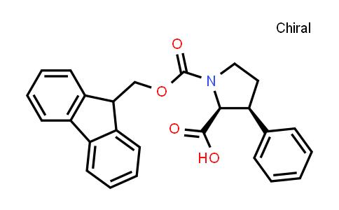 (2S,3S)-1-(9H-fluoren-9-ylmethoxycarbonyl)-3-phenylpyrrolidine-2-carboxylic acid