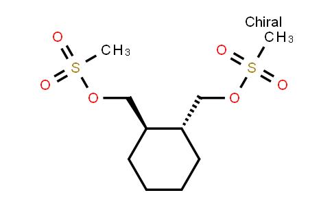 [(1R,2r)-2-(methylsulfonyloxymethyl)cyclohexyl]methyl methanesulfonate