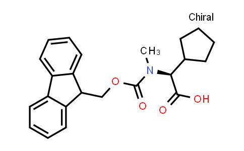 (S)-2-(N-Fmoc-N-methyl-amino)-2-cyclopentylacetic acid