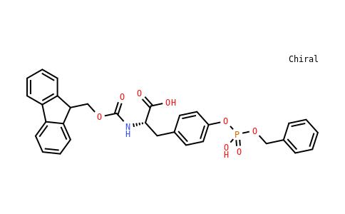 Fmoc-Tyr(HPO3Bzl)-OH