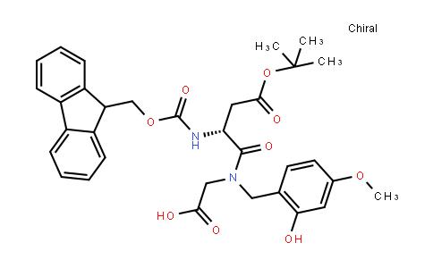 Fmoc-D-Asp(OtBu)-(Hmb)Gly-OH