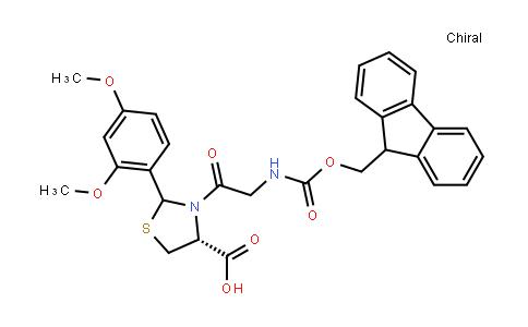 Fmoc-Gly-Cys(Psi(Dmp,H)pro)-OH