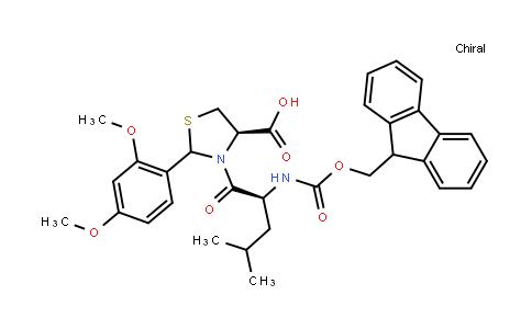 Fmoc-Leu-Cys(Psi(Dmp,H)Pro)-OH