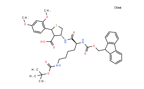 Fmoc-Lys(Boc)-Cys(Psi(Dmp,H)Pro)-OH