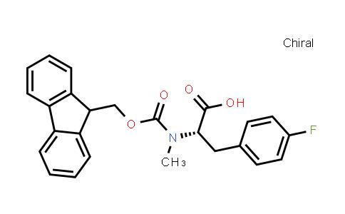 L-phenylalanine, N-[(9H-fluoren-9-ylmethoxy)carbonyl]-4-fluoro-N-methyl-