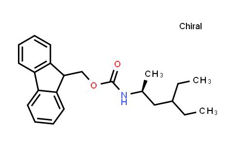 (S)-2-(((9H-Fluoren-9-YL)methoxy)carbonylamino)-4-ethylhexan