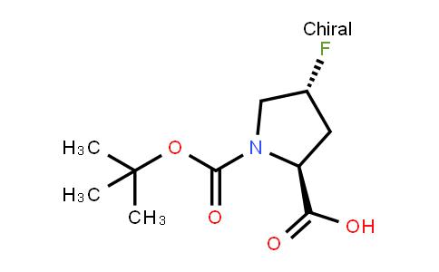 (2S,4r)-4-fluoro-1-[(2-methylpropan-2-yl)oxycarbonyl]pyrrolidine-2-carboxylic acid