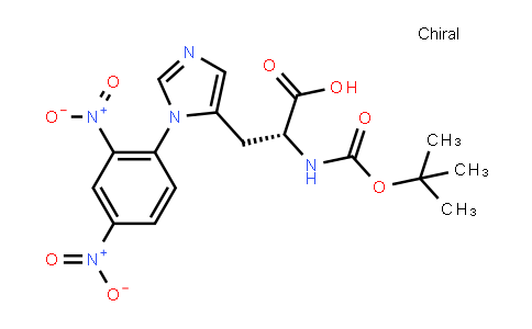 Boc-D-His(Dnp)-OH Isopropanol Solvate
