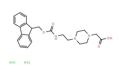 4-[2-(Fmoc-Amino)Ethyl]Piperazin-1-Ylacetic Acid Dihydrochloride