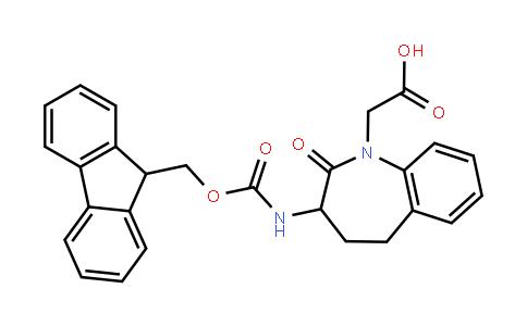 Fmoc-(R,S)-3-amino-N-1-carboxymethyl-2,3,4,5-tetrahydro-1H-[1]-benzazepine-2-one