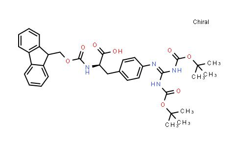 Fmoc-(4,Bis(Boc)-guanido)Phe-OH