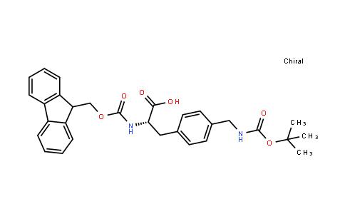 Fmoc-L-4-Aminomethylphe(Boc)