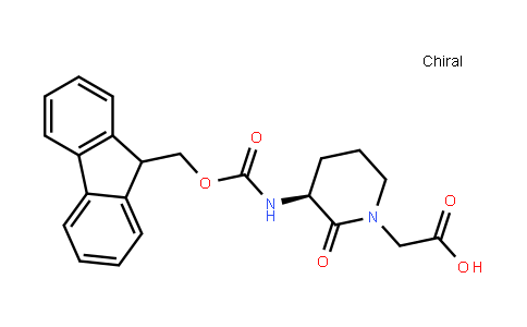 (3S)-Fmoc-3-Amino-1-Carboxymethyl-Valerolactame