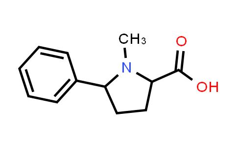 1-Methyl-5-phenylpyrrolidine-2-carboxylic acid