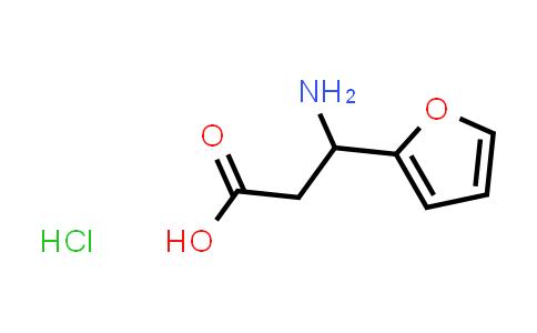 3-aMino-3-(furan-2-YL)propanoic acid hydrochloride
