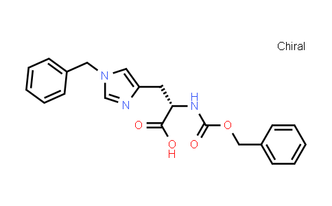 L-​histidine, n-​[(phenylmethoxy)​carbonyl]​-​1-​(phenylmethyl)​-