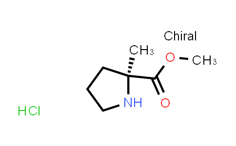 (S)-Methyl 2-methylpyrrolidine-2-carboxylate hydrochloride