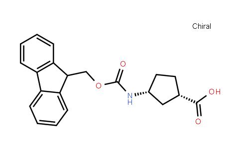 (1S,3r)-3-(9h-fluoren-9-ylmethoxycarbonylamino)cyclopentane-1-carboxylic acid