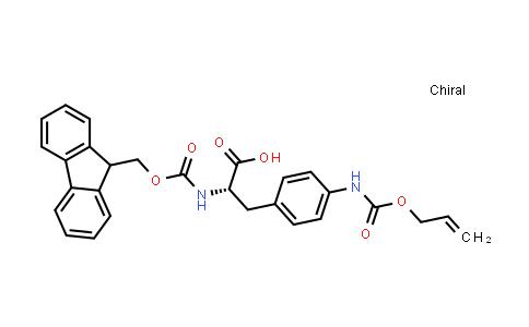 Fmoc-L-Phe(4-NH-Alloc)-OH