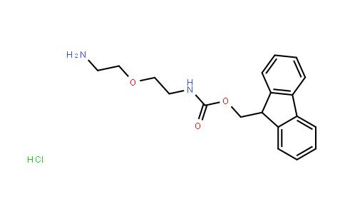 2-[2-(Fmoc-amino)ethoxy]ethylamine hydrochloride