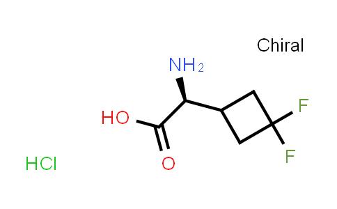 (2S)-2-aMino-2-(3,3-difluorocyclobutyl)acetic acid hydrochloride