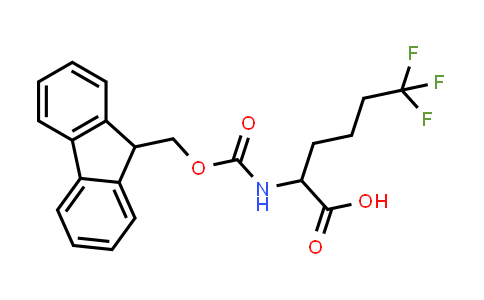 2-(9H-Fluoren-9-ylmethoxycarbonylamino)-6,6,6-trifluorohexanoic acid