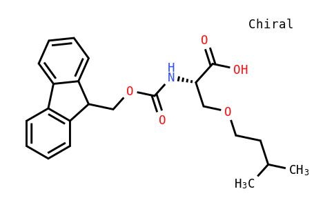 Fmoc-DL-Ser(Isoamyl)-OH