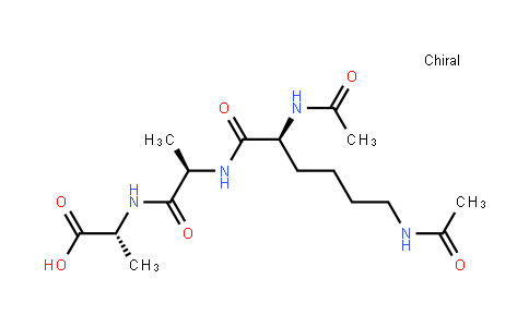 (Ac)2-L-lysyl-D-alanyl-D-alanine